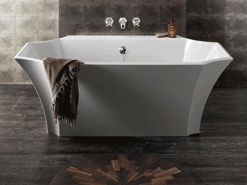Bauhaus waldorf freestanding bath