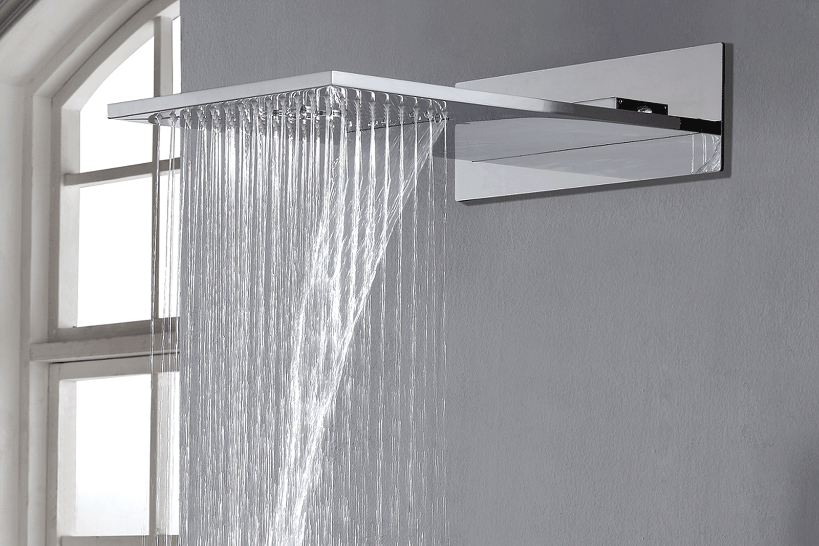 Aqualla encore dualflow showerhead