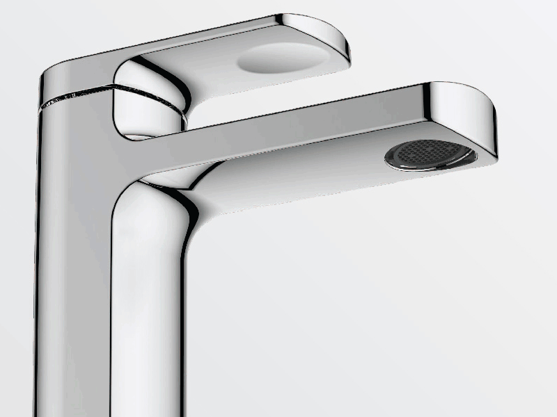 Aqualla fuse chrome tap
