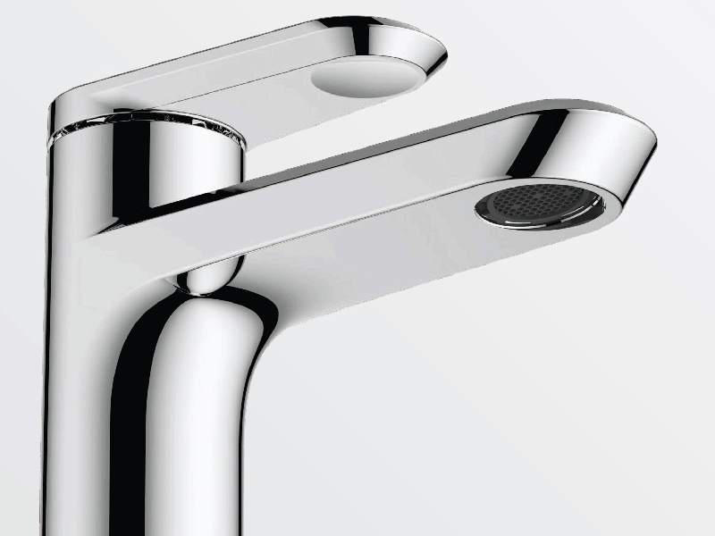 Aqualla linea chrome tap