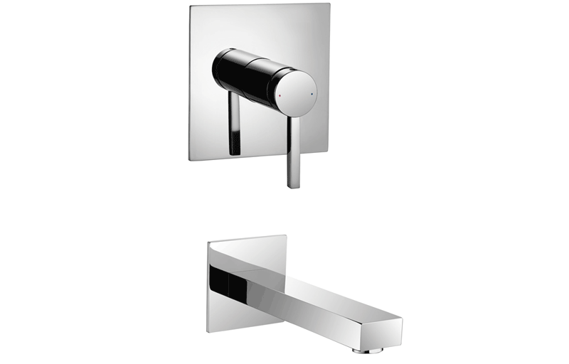 Aqualla merge wall mounted bath filler