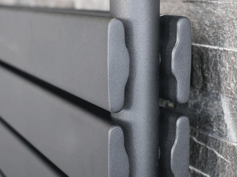 Aqualla source radiator closeup