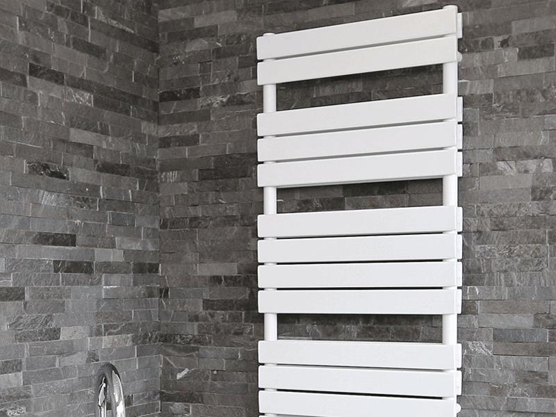 Aqualla source white matt radiator
