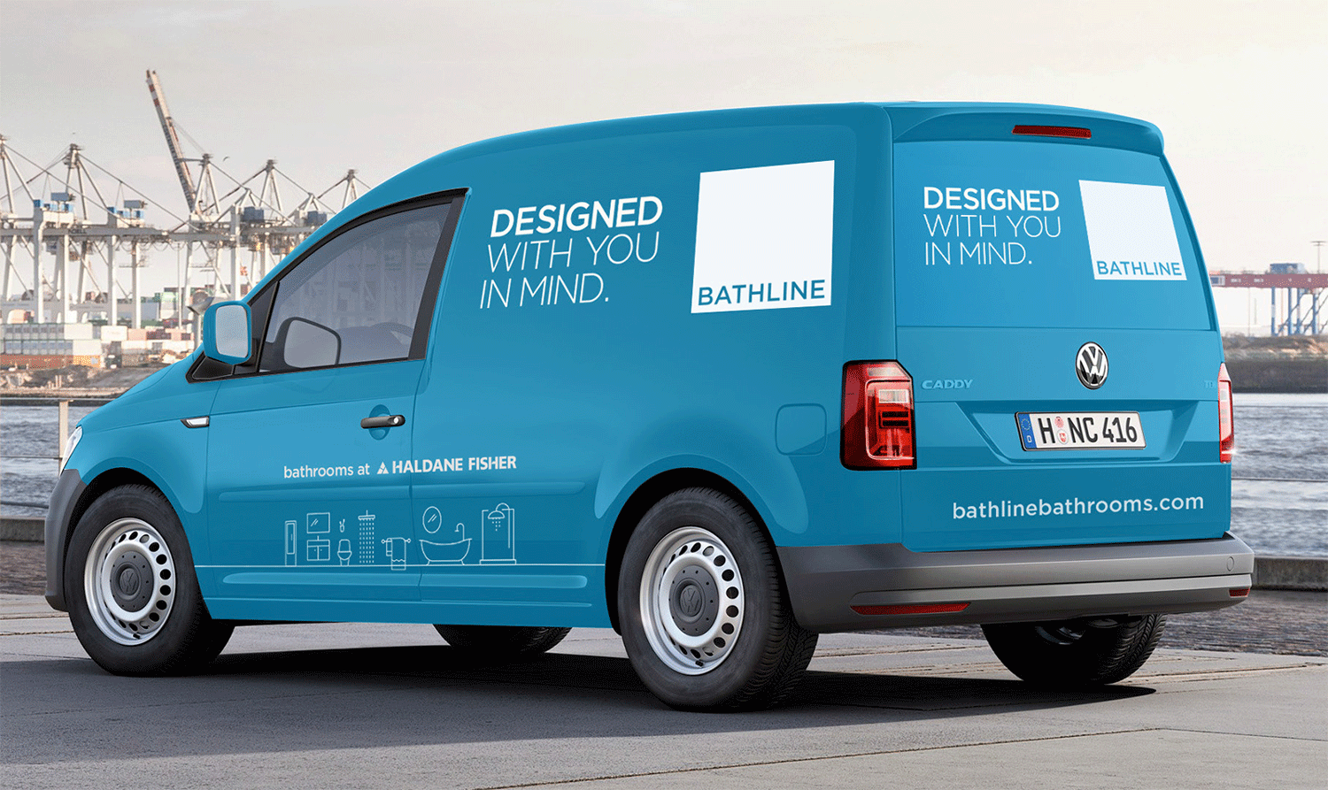 Bathline Delivery Van