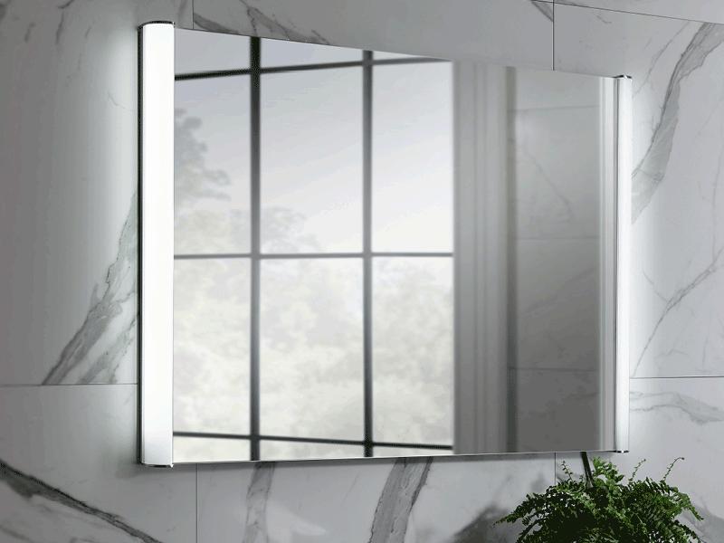 Bauhaus serene lifestyle mirror