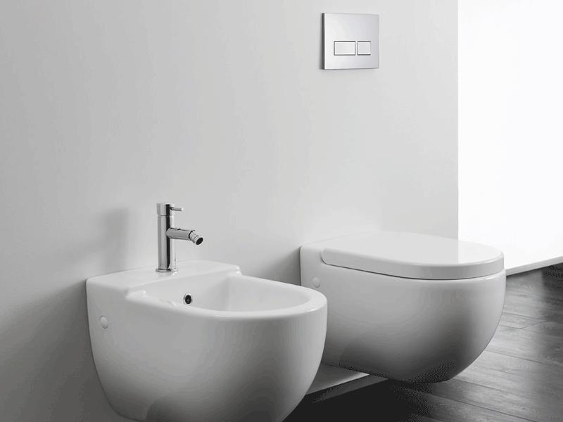 Bauhaus stream ii toilet