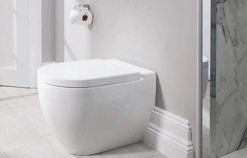 Bauhaus stream ii wc toilet
