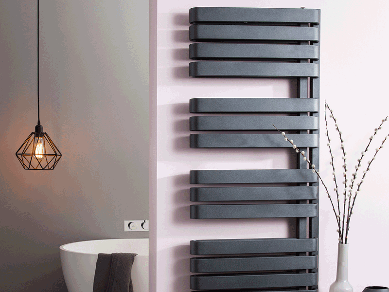 Bauhaus svelte bathroom radiator