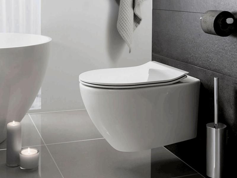 Bauhaus svelte toilet