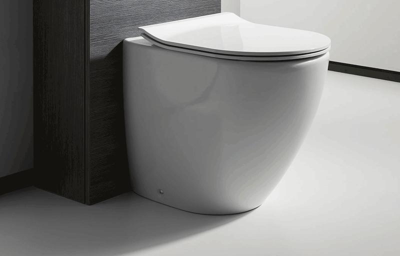Bauhaus svelte wc toilet