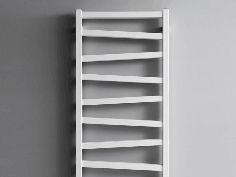 Bauhaus wedge white radiator