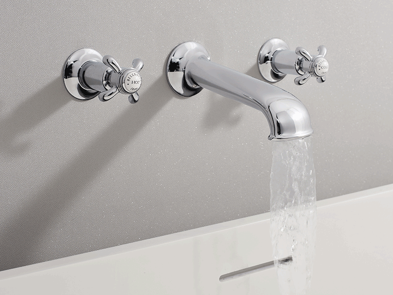 Crosswater belgravia wall mounted tap