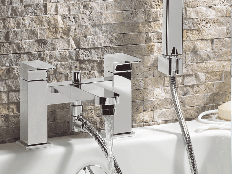 Crosswater modest bath mixer