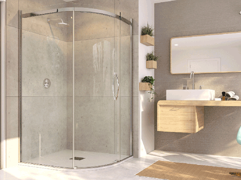 Flair oro shower enclosure