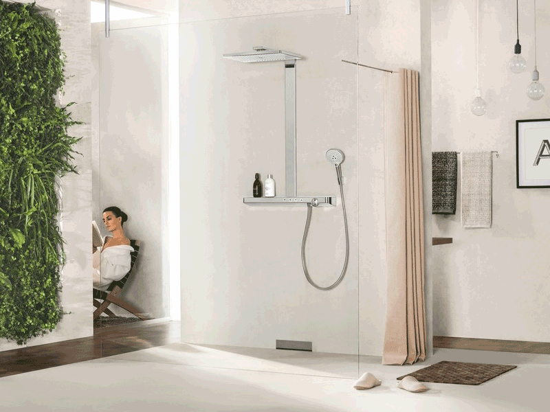 Hansgrohe rainmaker lifestyle shower