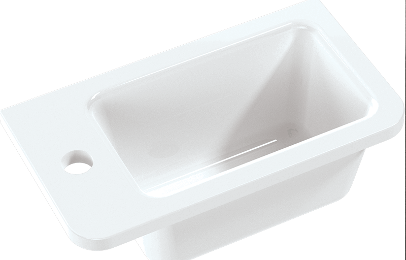 Hib arc washbasin