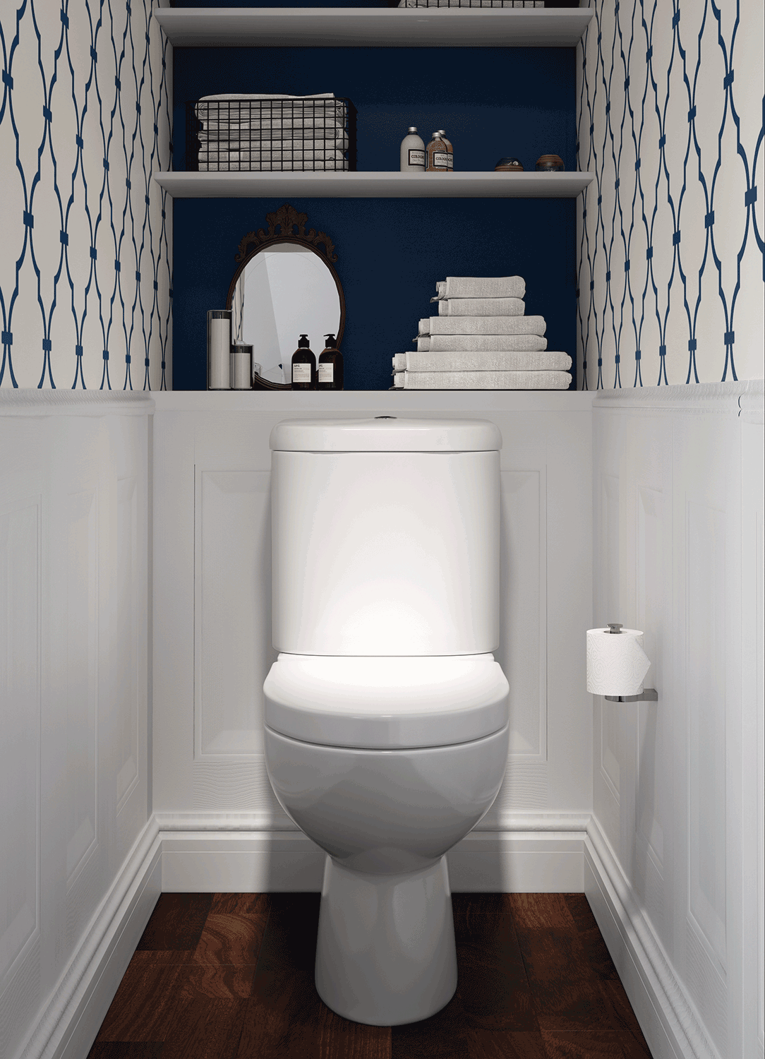 Toilet Room Designs: BATHLINE Bathroom Cloakroom Design
