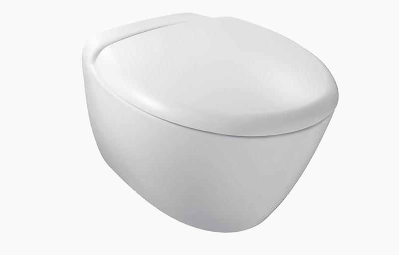 Kohler presquile wall hung toilet