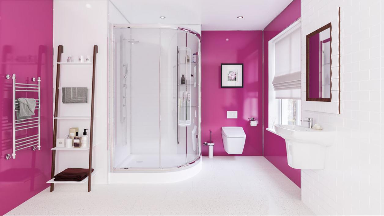 mulitpanel-fuscia-bathroom
