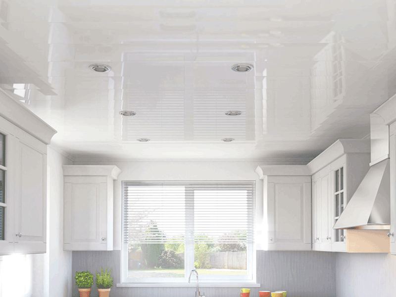 Multipanel ceiling panels kitchen