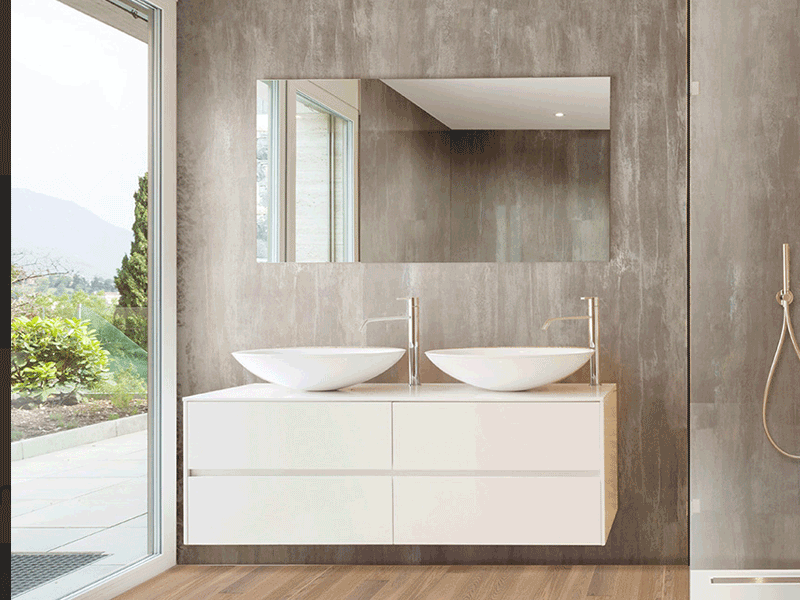 Multipanel classic monsoon panelling
