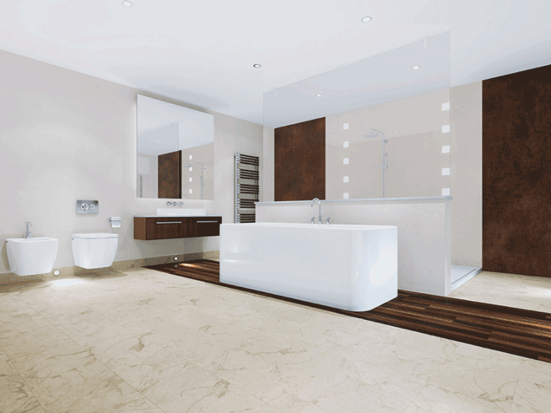 Multipanel click toscana marble tiles