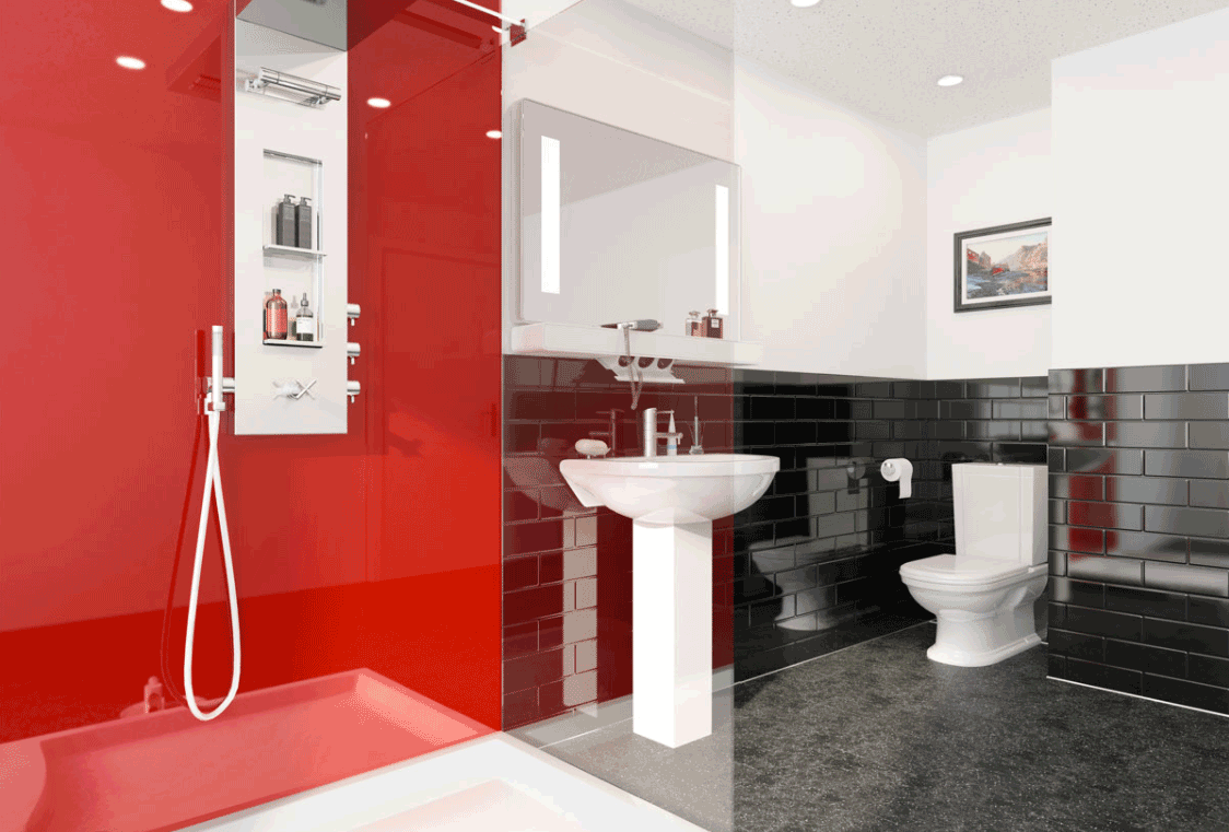 multipanel-red-reflect-range-panelling