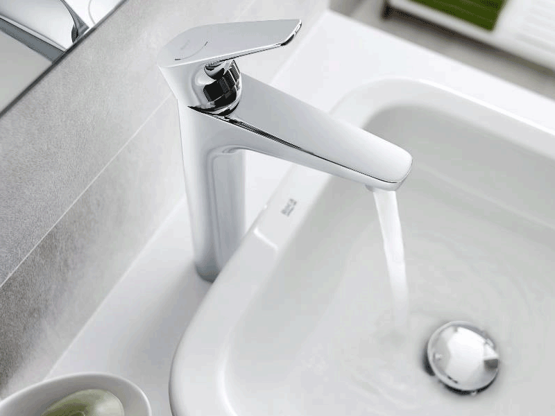 Roca atlas lifestyle basin tap