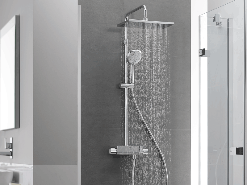 Roca deck t lifestyle shower