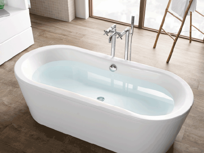 Roca duo lifestyle bath