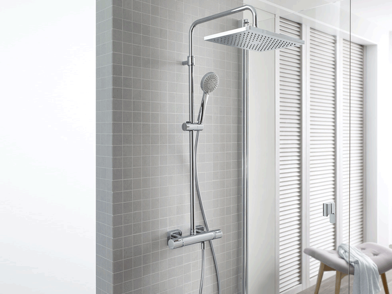 Roca even t lifestyle shower