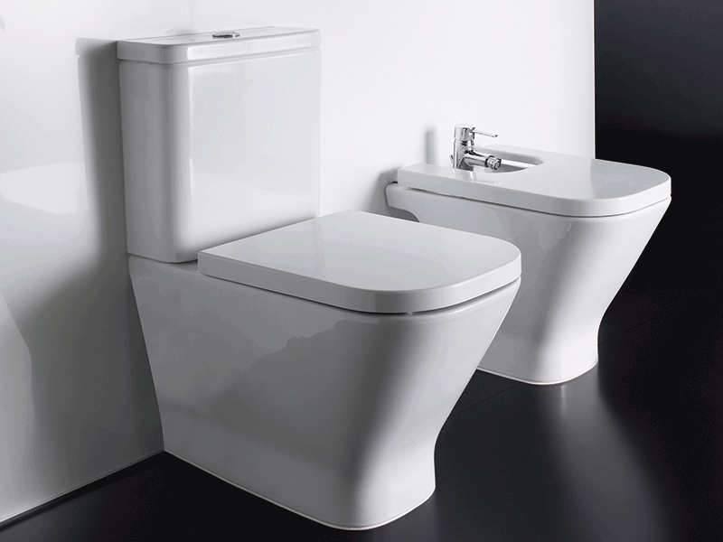 Roca the gap toilet