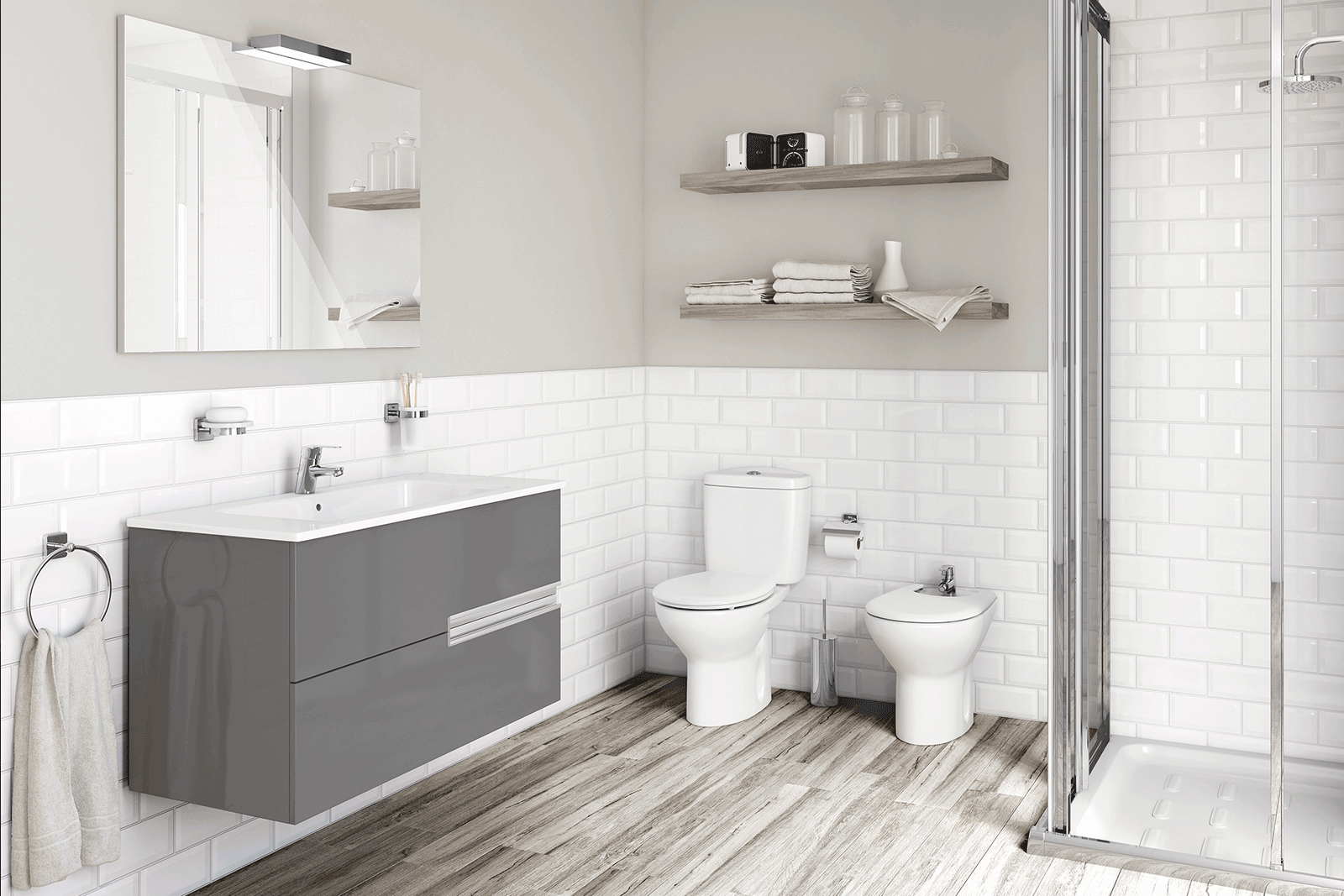 Roca Luxury Bathrooms at BATHLINE | Bathroom Design Northern Ireland
