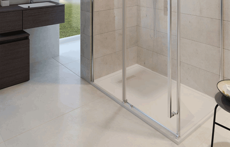 Simpson pier shower tray