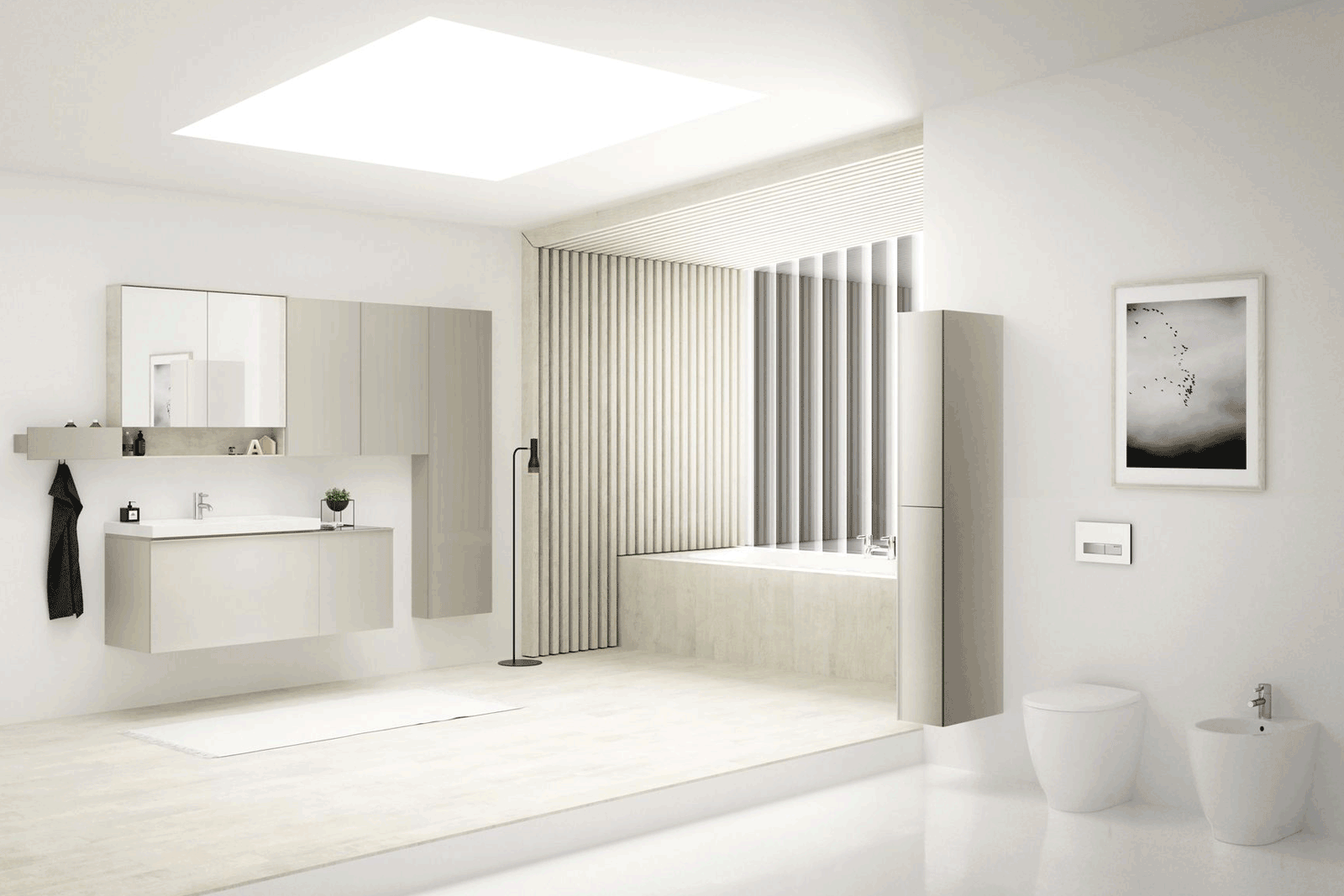 Geberit Acanto bathroom roomset