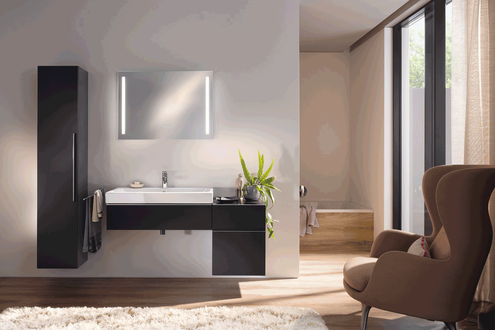 Geberit icon bathroom roomset