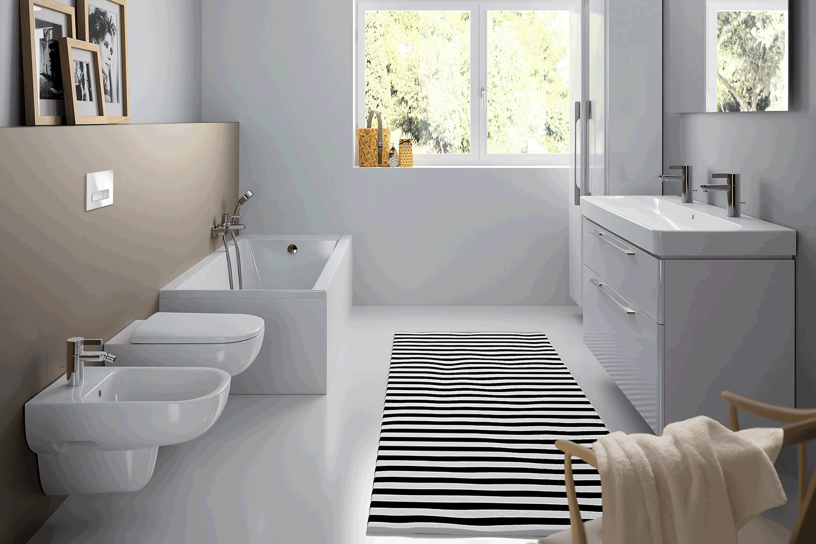 Geberit smyle bathroom roomset