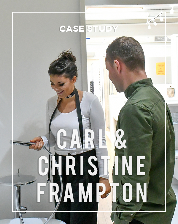 Carl and Christine Hamilton BATHLINE Bathroom Case Study