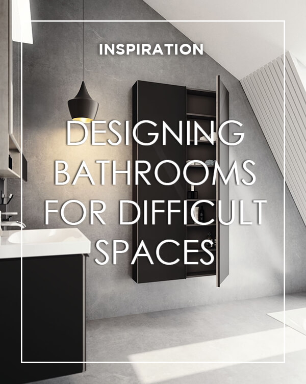 Designing Bathrooms for Difficult Spaces with BATHLINE bathrooms