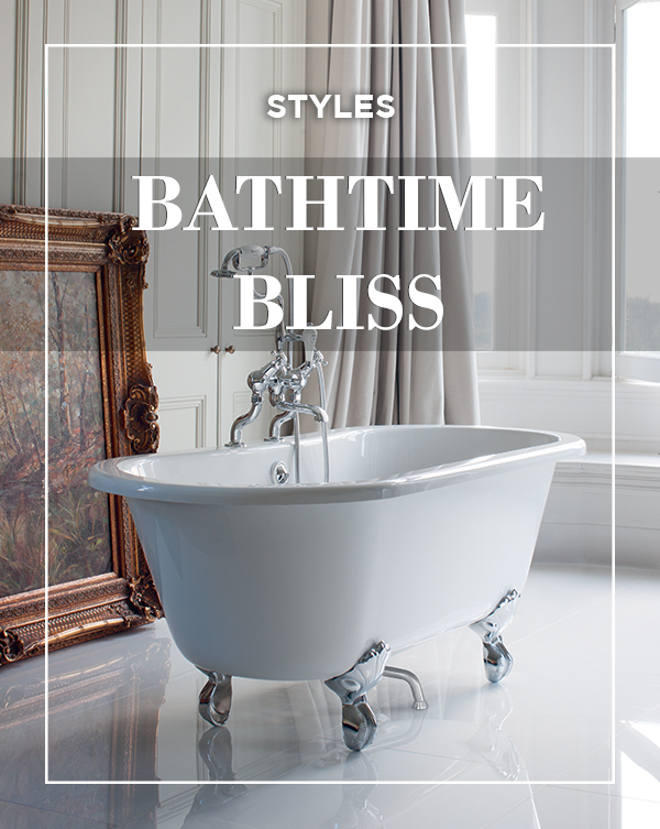 Choose the right bath for your bathroom from BATHLINE and enjoy some bath time bliss.
