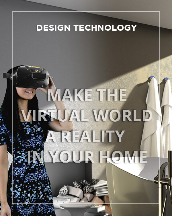 Make the virtual world a reality in your home with BATHLINE Bathroom Showrooms.