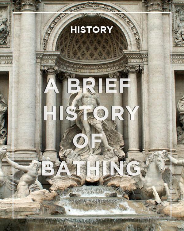 A brief history of Bathing from BATHLINE - Bathrooms at Haldane Fisher