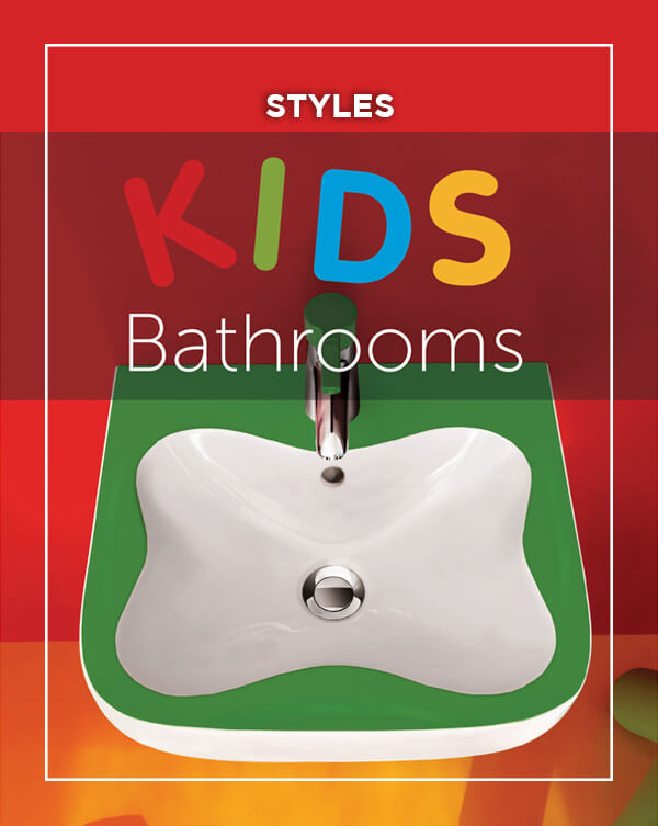 Kids Bathrooms design from BATHLINE bathrooms in Northern