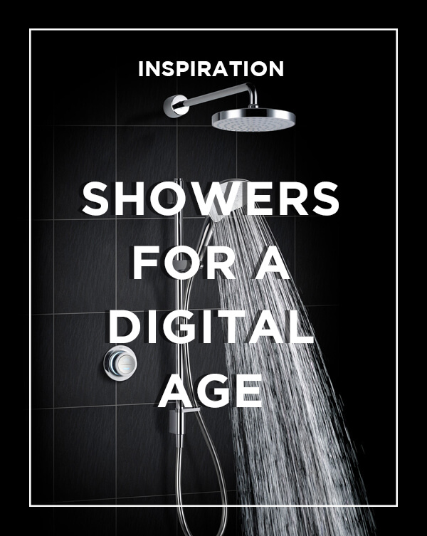 Showers in a digital age ideas blog from BATHLINE bathrooms.