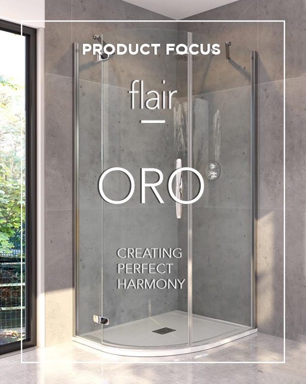 BATHLINE bathrooms Product Focus blog on Flair ORO Shower Enclosures