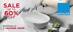 BATHLINE 2018 Autumn Bathroom SALE is Now on