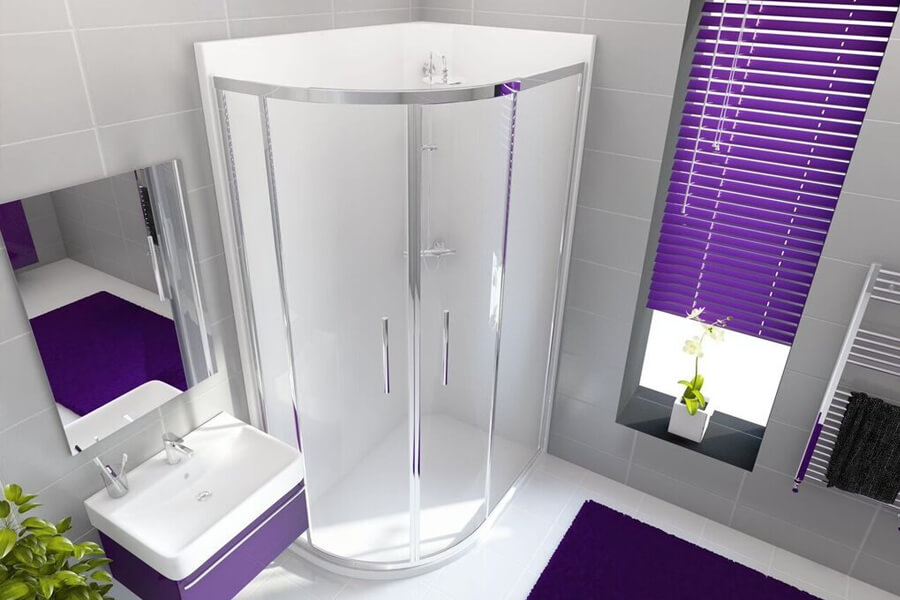 Neptune Bathing Bathroom Waterproof Shower Enclosure available from BATHLINE bathroom showrooms in Northern Ireland and the Isle of Man.