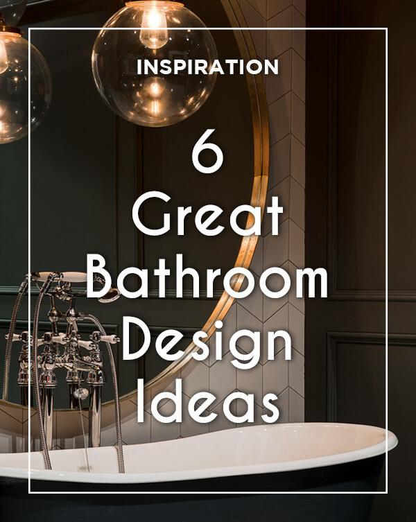 6 great Bathroom Design Ideas from BATHLINE- Bathrooms at Haldane Fisher.
