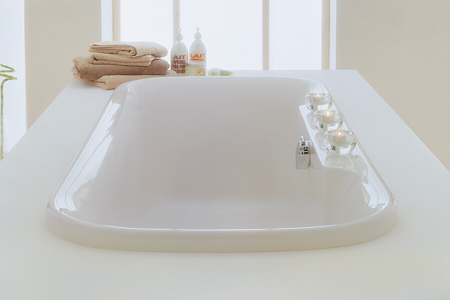 Adamsez Essence Bath available from BATHLINE.