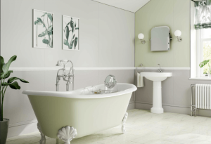 Multipanel Heritage Faversham Matte and Esher Matte panelling available from BATHLINE.